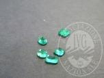 Immagine di lotto composto da n. 5 smeraldi, tot ct. 1,60 (LOTTO 3)