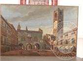 RGE 3730/2017 Tribunale di Bergamo - Lotto 4: un dipinto di cm. 85×119 dell'artista Bonfanti raffigurante