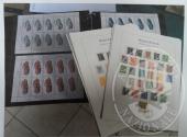 Francobolli da collezione: Repubblica democratica tedesca (lotto 117) un raccoglitore con 1.273 francobolli nuovi in foglietti