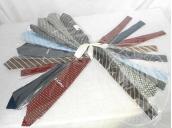 10 Cravatte di varie marche e colori<br />17 Cravatte marca Mattabish-Napoli